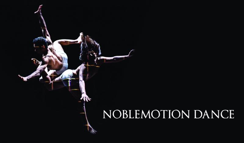 Breathtaking dance postcard
