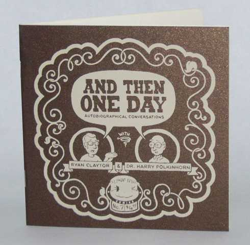 And Then One Day #7 (available for purchase at elephanteater.com)