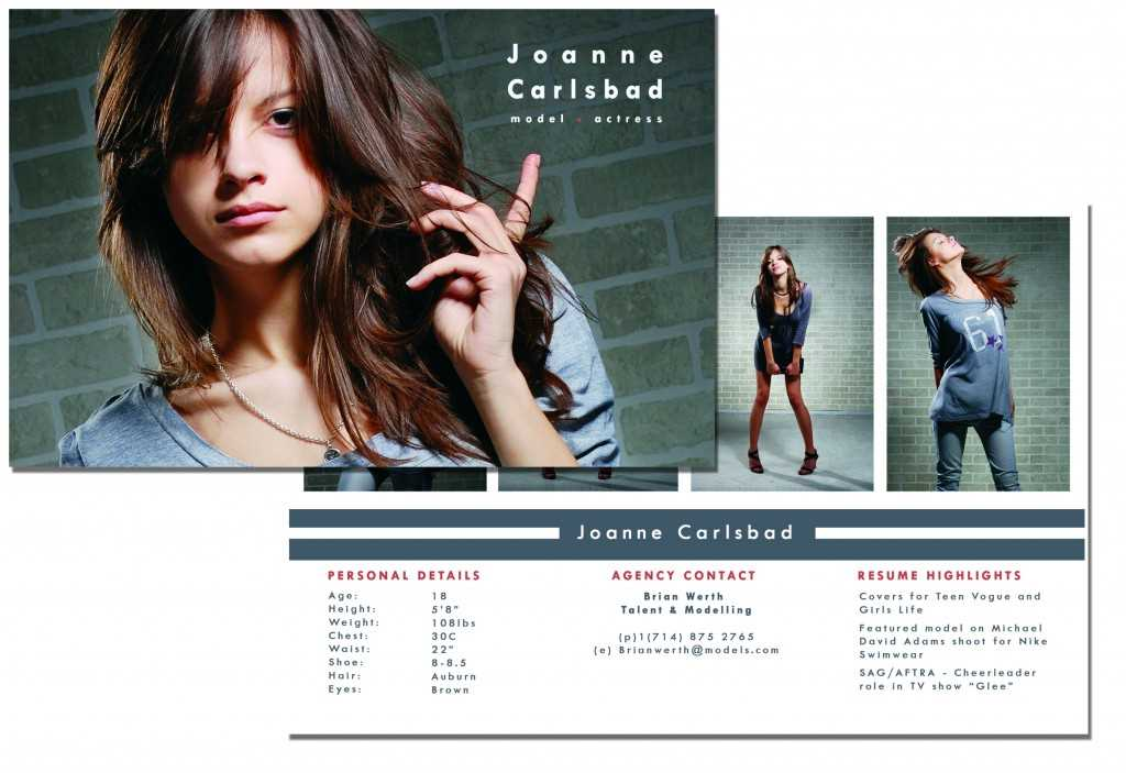 Comp cards what they are and how to print them overnightprints blog for Comp card example