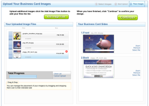 Upload your Business Cards for FREE – Overnight Prints' new and improved online service