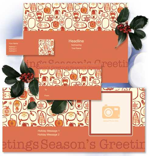 Customize this cute character design with text and photo - create personalized address labels, gift tags, greeting cards, and photo cards