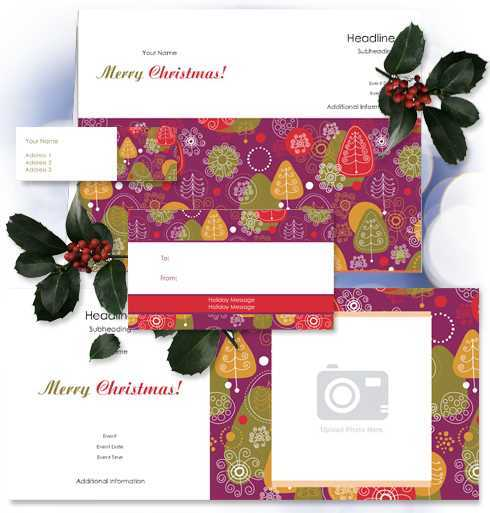 Make your own Holiday Gift Stationery at OvernightPrints!