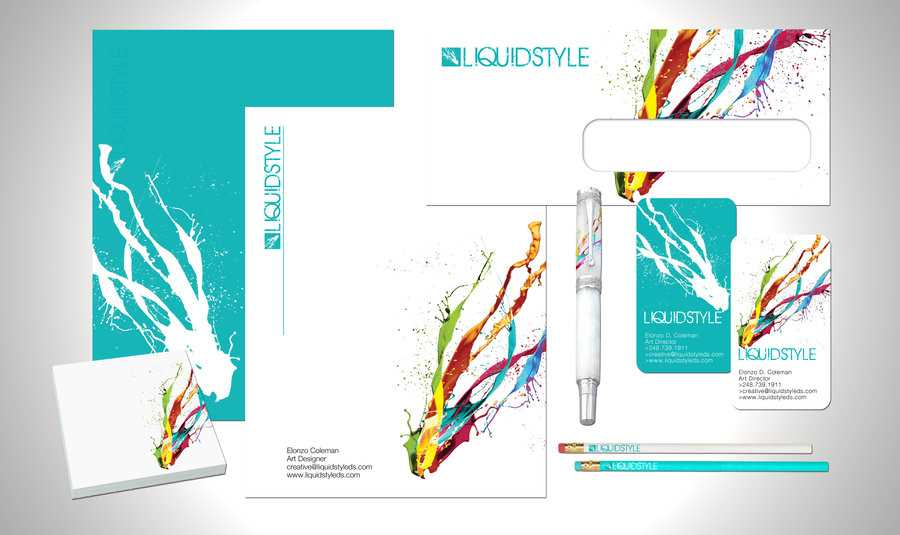 Have an awesome design that can be applied to all your corporate identity products