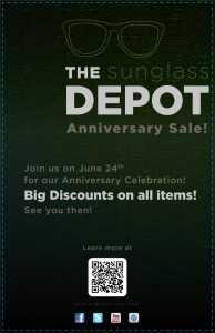 Sunglass Depot Poster