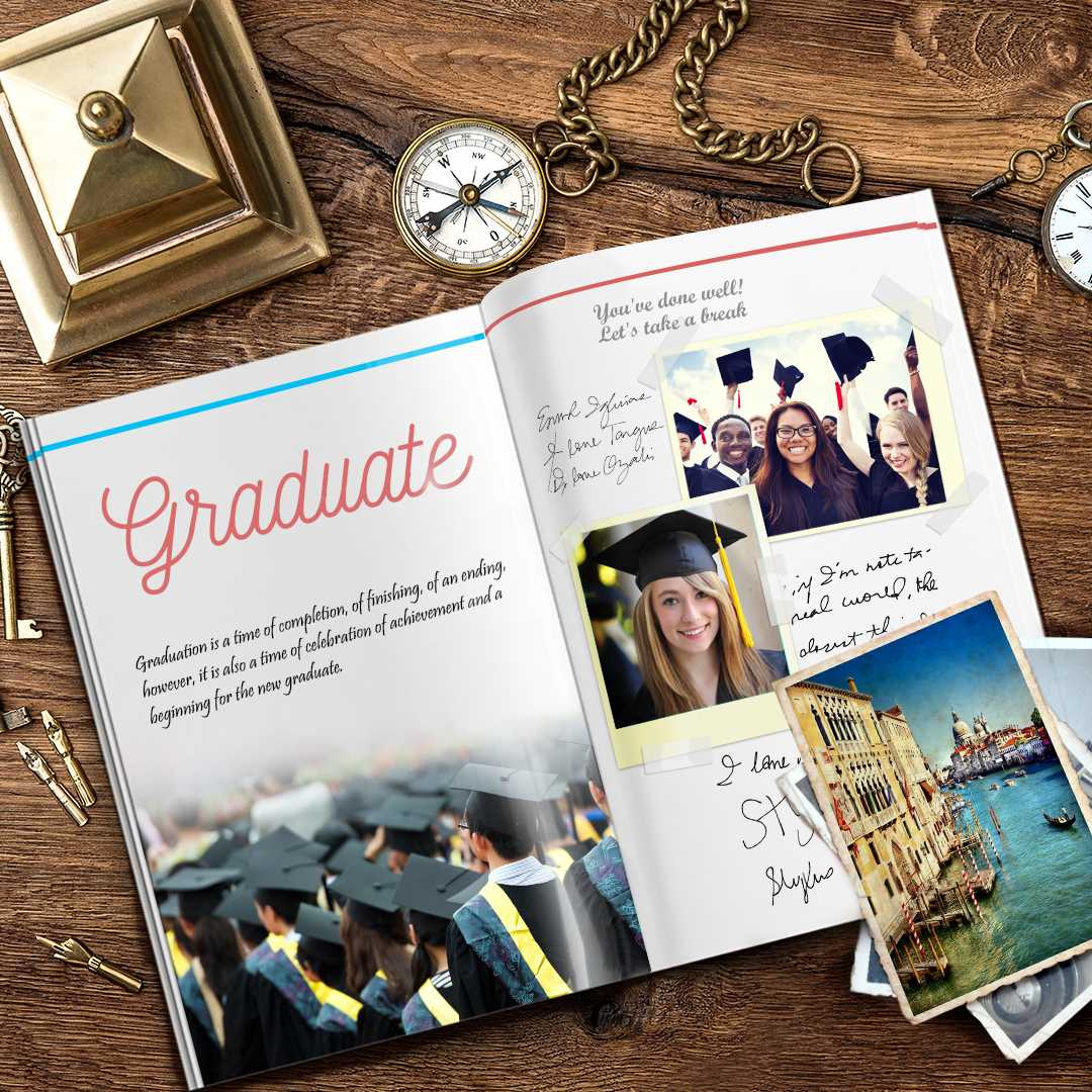 Graduation DIY Yearbook