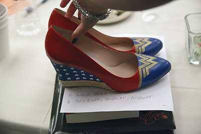 Superwoman shoes