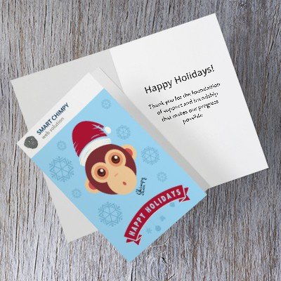 Corporate greeting card