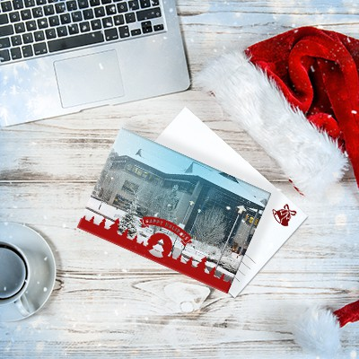 How to Easily Design Business Holiday Cards