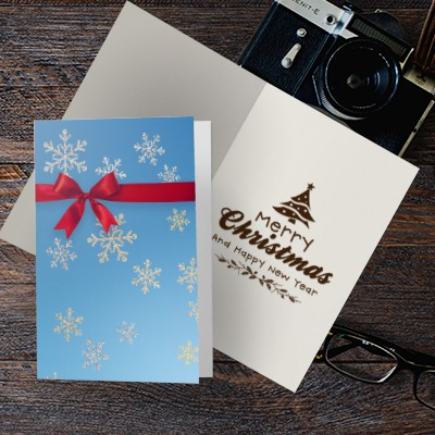 Corporate holiday gift voucher