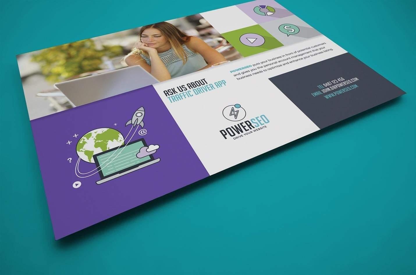 Informative business flyer