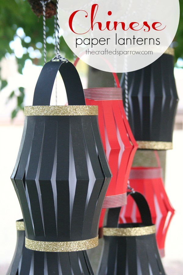 DIY Chinese paper lantern
