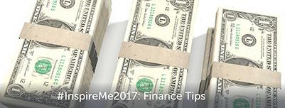 #InspireMe2017: Finance Tips