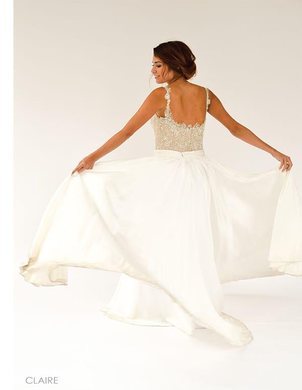 Alyssa Kristin Claire gown