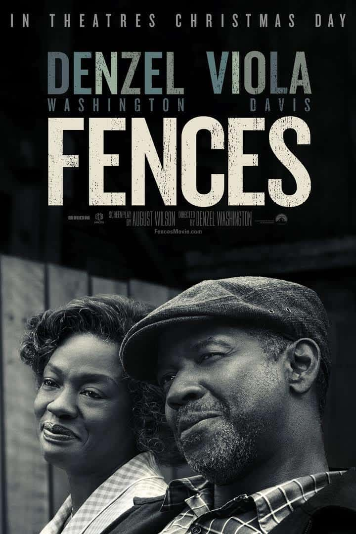 Fences 2016 movie poster