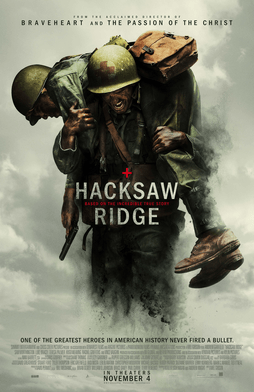 Hacksaw Ridge 2016 movie poster