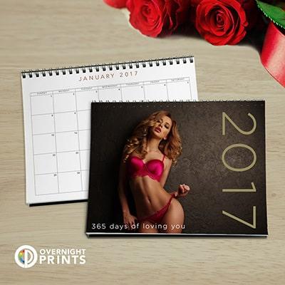 Valentine's Day sexy calendar