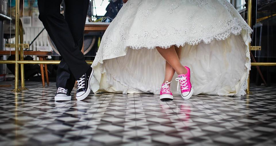 matching wedding shoes
