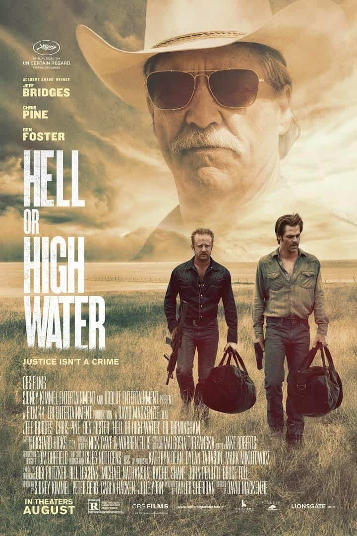 Hell or High Water 2016 movie poster