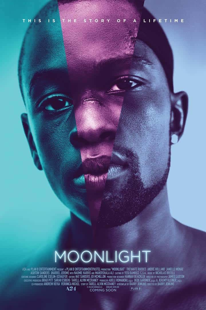 Moonlight 2016 movie poster