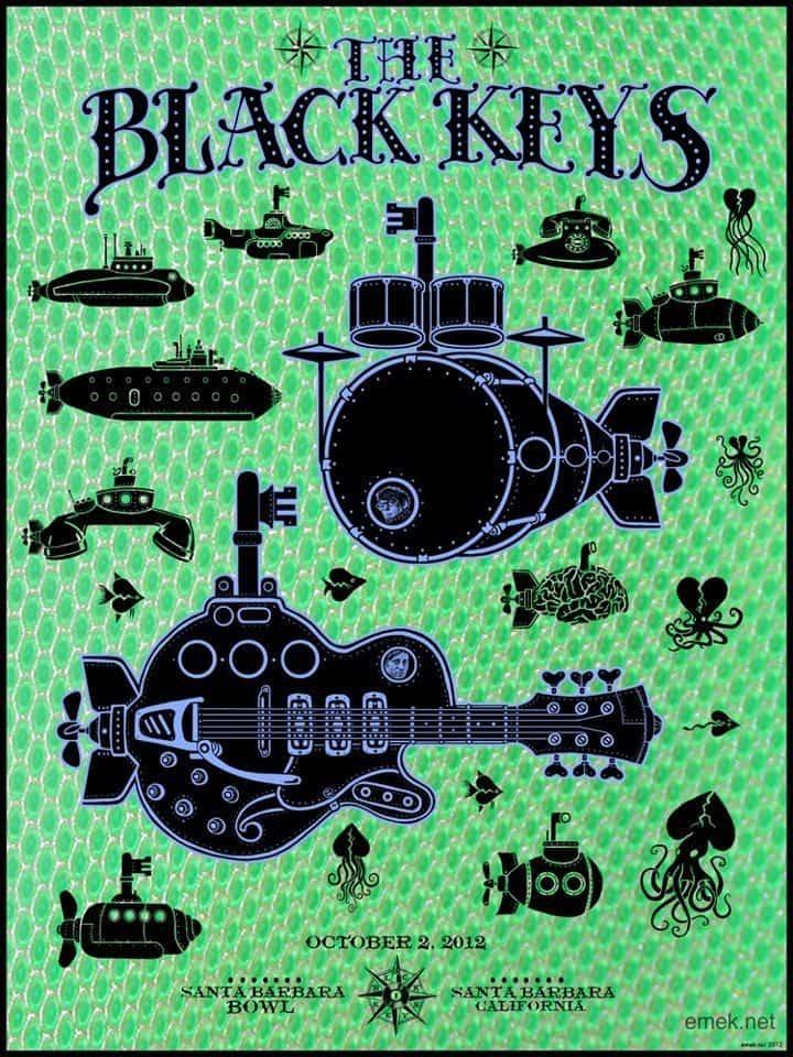 Black Keys Santa Barbara Bowl 2012