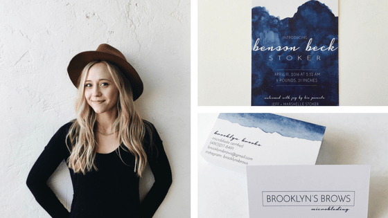 Danielle McNeil marketing materials