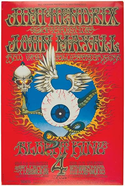 Jimi Hendrix Experience Fillmore 1968