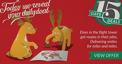 Reindeer mapping Santa's route