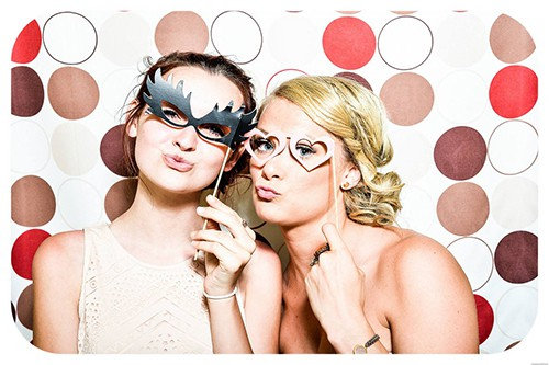 Glasses Fun Party Girls Wedding Photo Booth