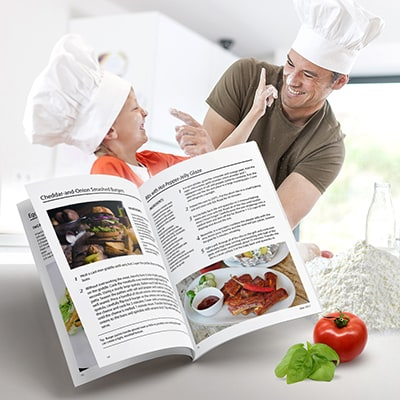 Family recipe booklet