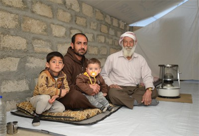 Yazidi family