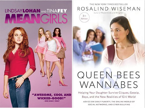 Mean Girls-Queen Bees Wannabes adaptation