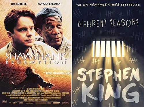 Shawshank Redemption-Different Seasons adaptation