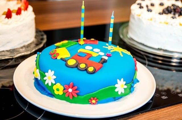 Kid's birthday cake