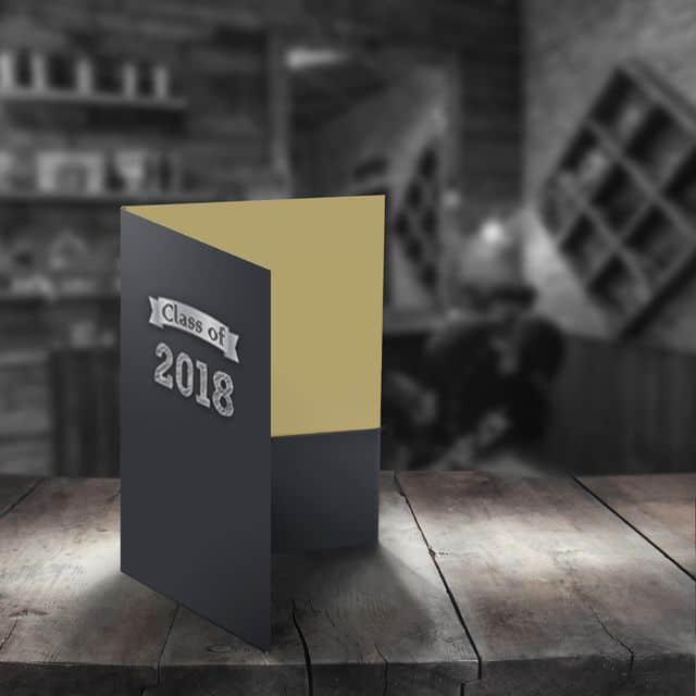 Class of 2018 pocket folder
