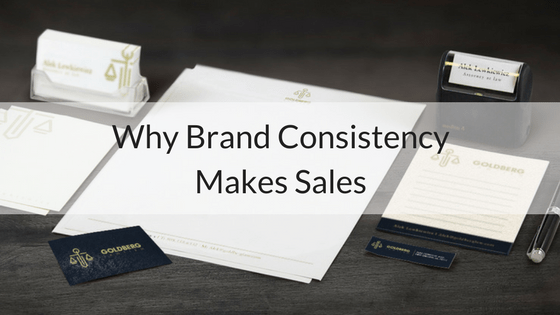 Why Brand Consistency Makes Sales