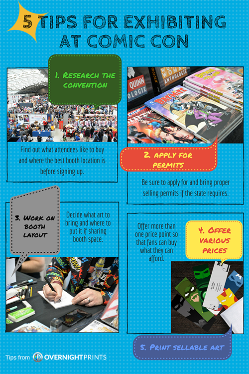 5 Tips for Exhibiting at Comic Con