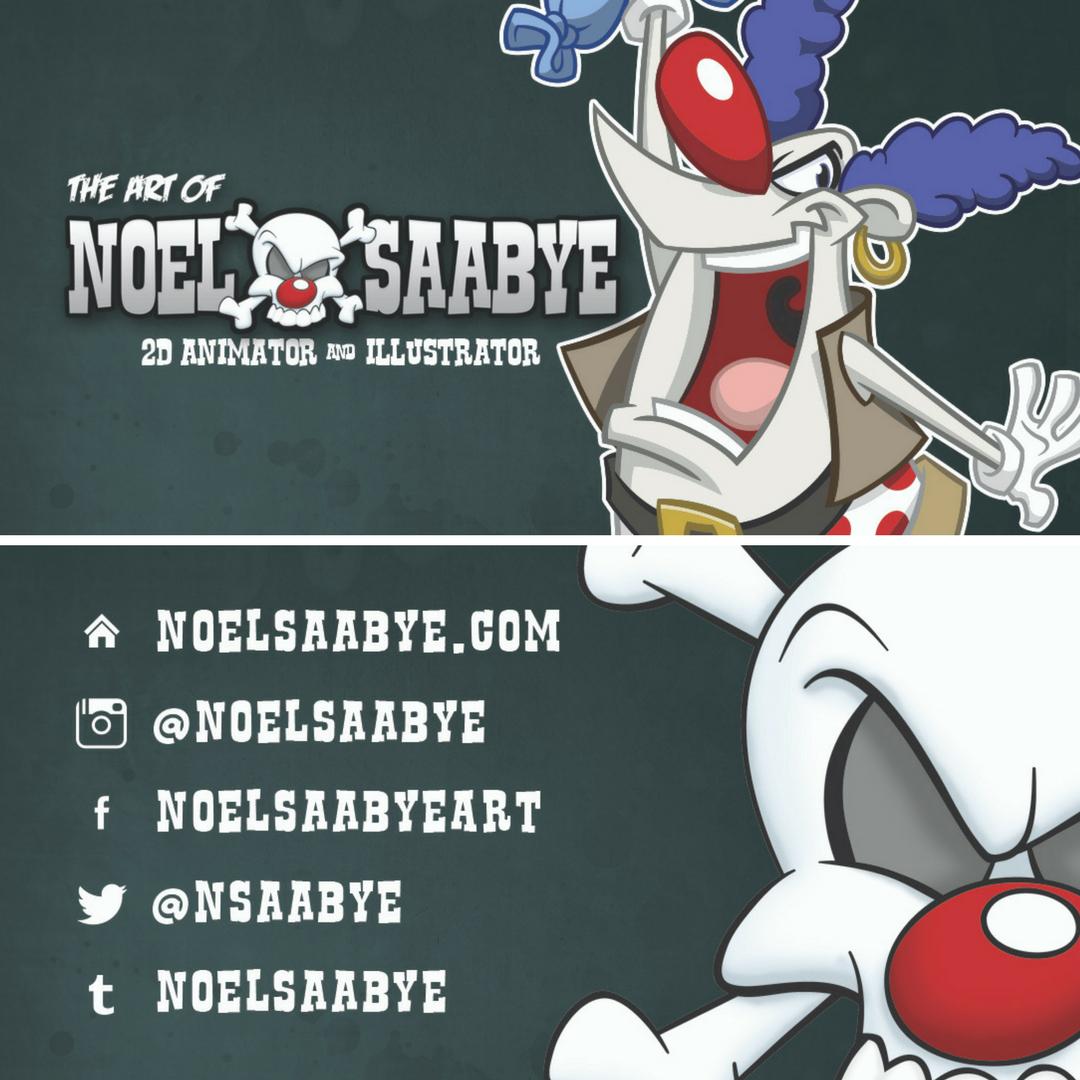 Noel Saabye business card