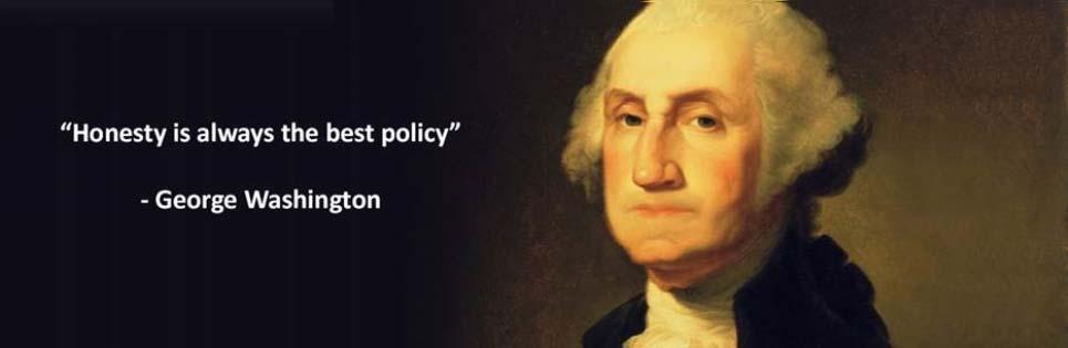 george washington quote on honesty