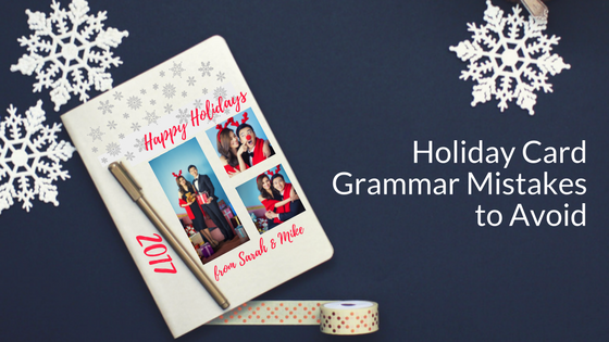 Holiday Card Grammar