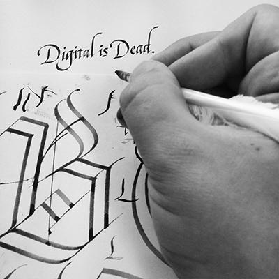 Seb Lester ink work