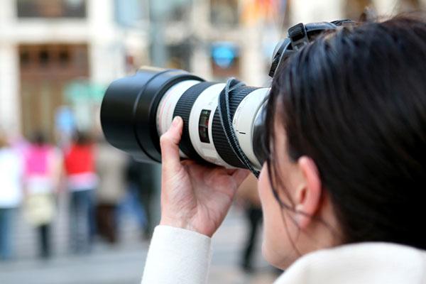 Professional event photographer