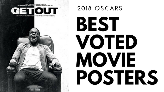 Best Voted Movie Poster Designs of the 2018 Oscars