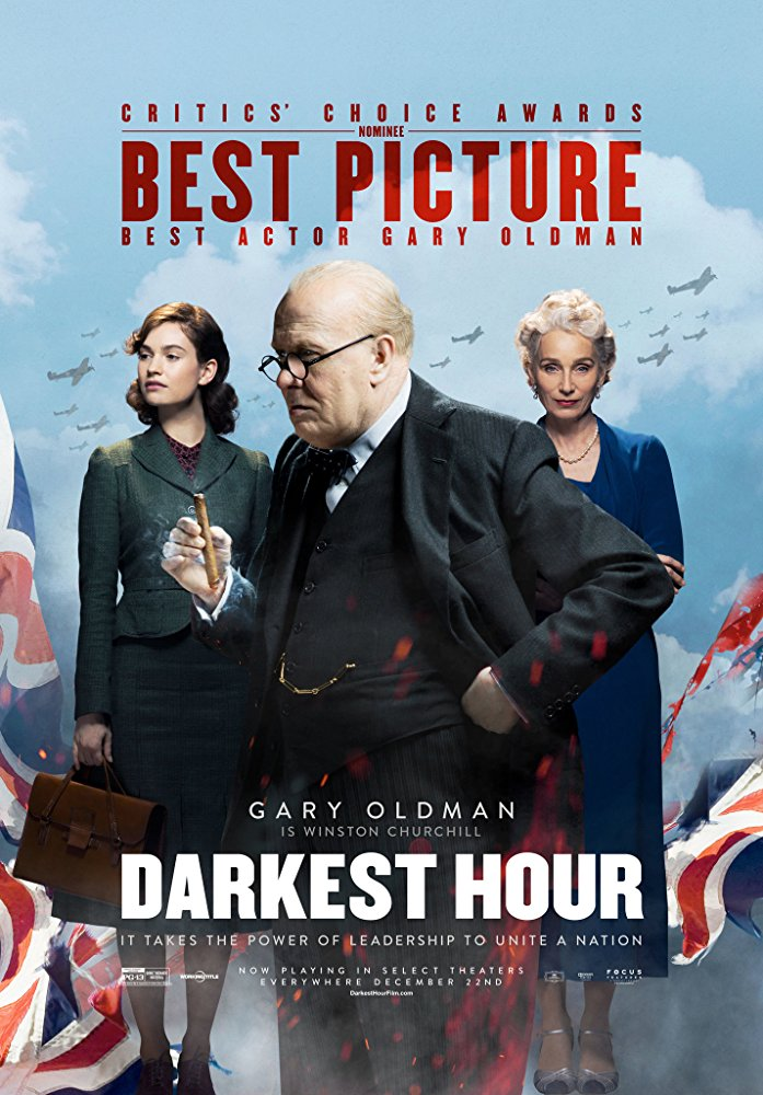 Darkest Hour 2017 movie poster