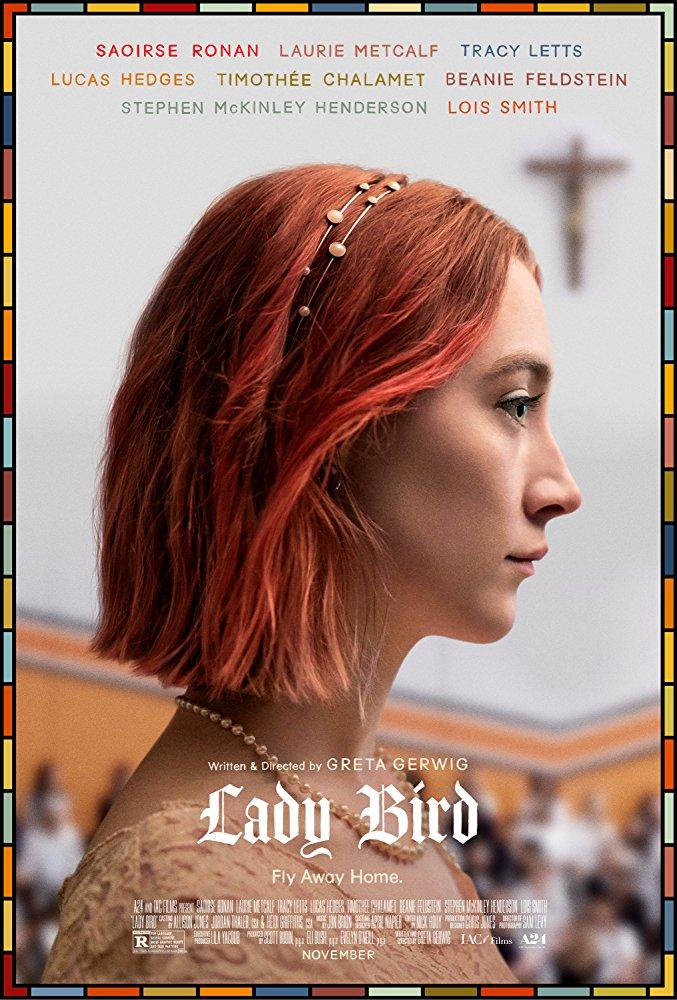 Lady Bird 2017 movie poster