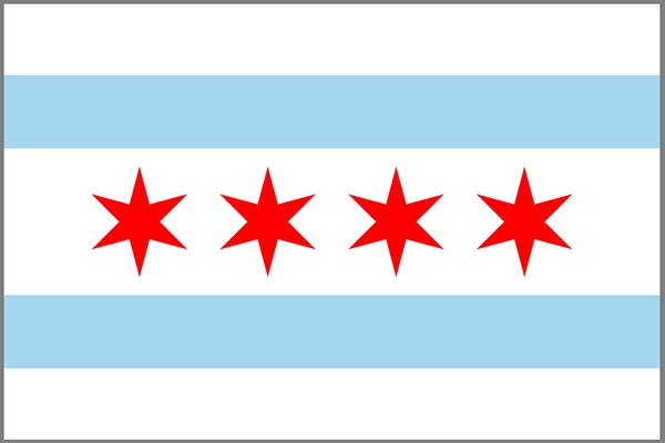 Chicago state flag