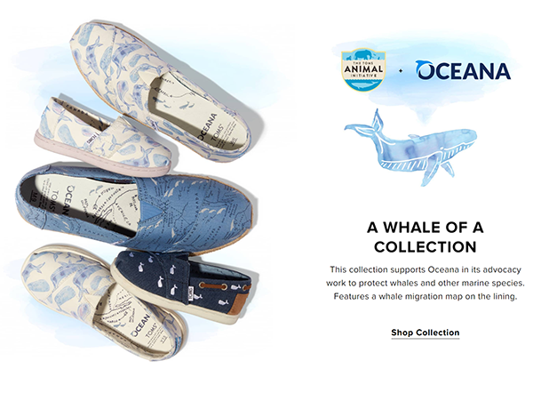 TOMS Oceana collection
