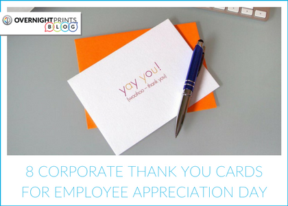 8 Corporate Thank You Cards for Employee Appreciation Day