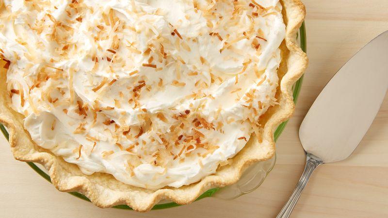 tasty coconut cream pie recipe from overnightprints