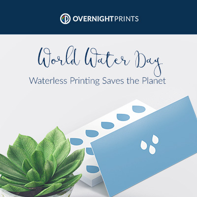 World Water Day: Waterless Printing Saves Our Planet