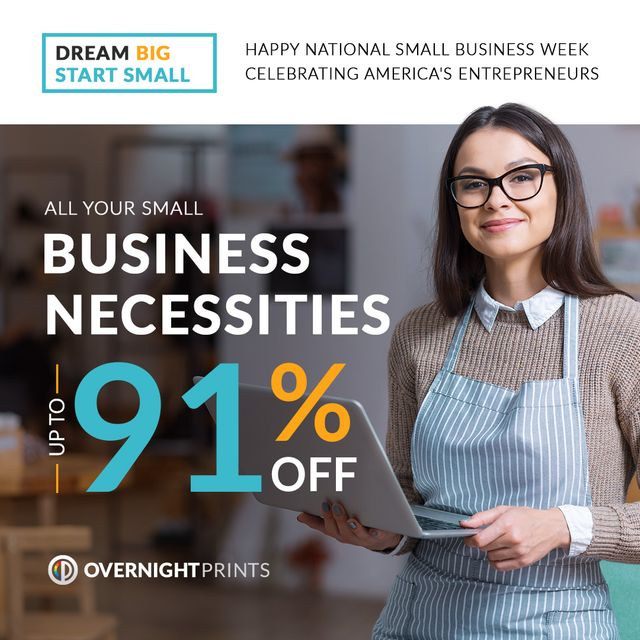 Small Business Week Up To 91% Off Promotion